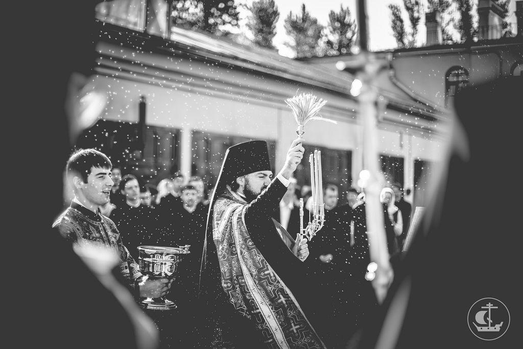9 мая 2016 Молебное пение в День Победы / 9 May 2016 Service of intercession in Victory Day by spbda