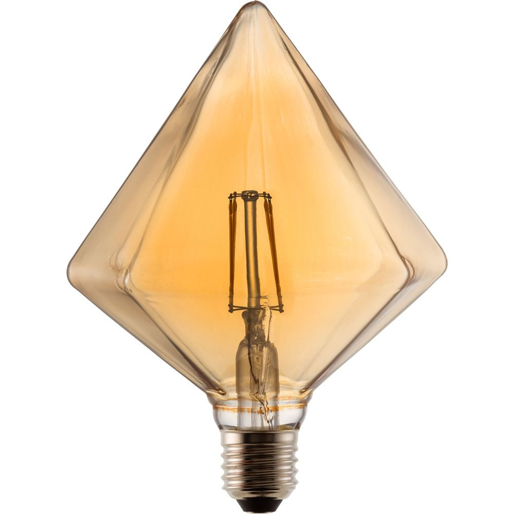 Tcp Vintage Led Bulb Filament Diamond 4w E27 With Images