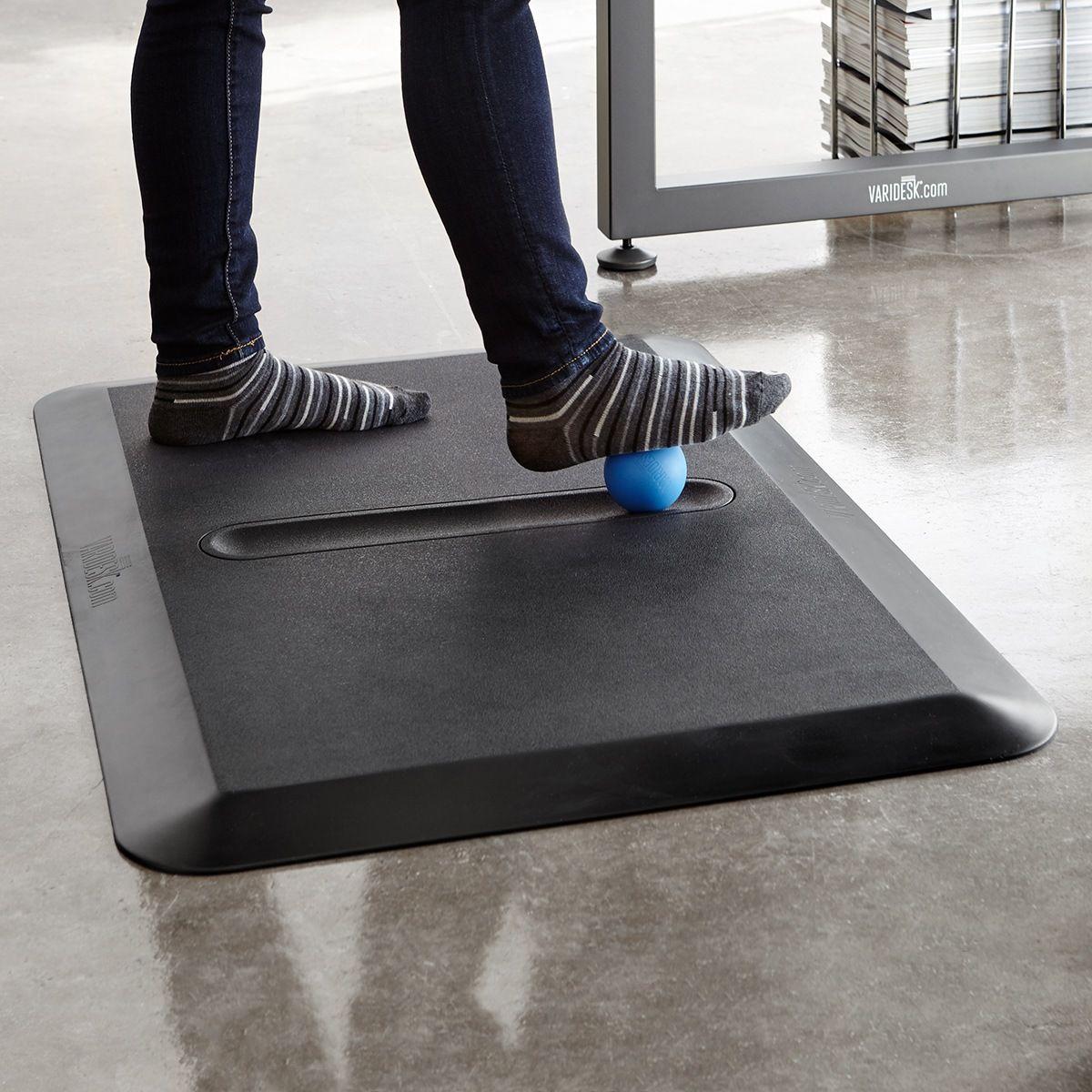 Varidesk Anti Fatigue Floor Mat Activemat Groove Standing Desk Mat Varidesk Desk Mat