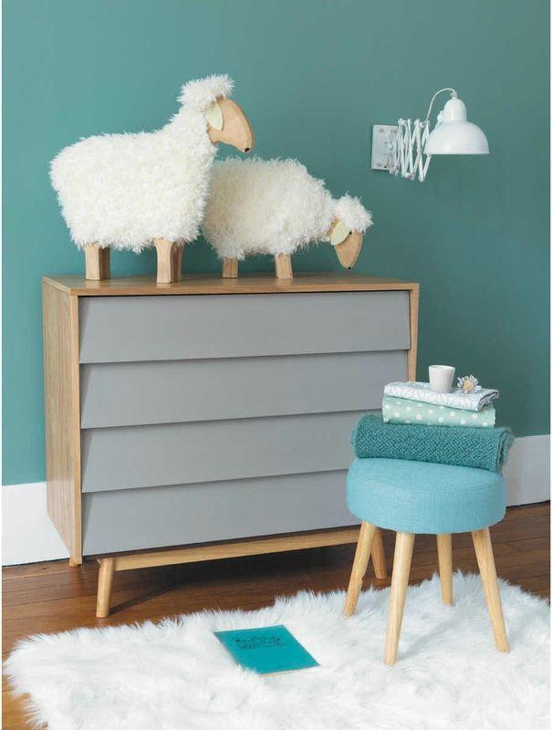 Du nouveau ! - Une touche de ... | Wall colours, Kids rooms and Room
