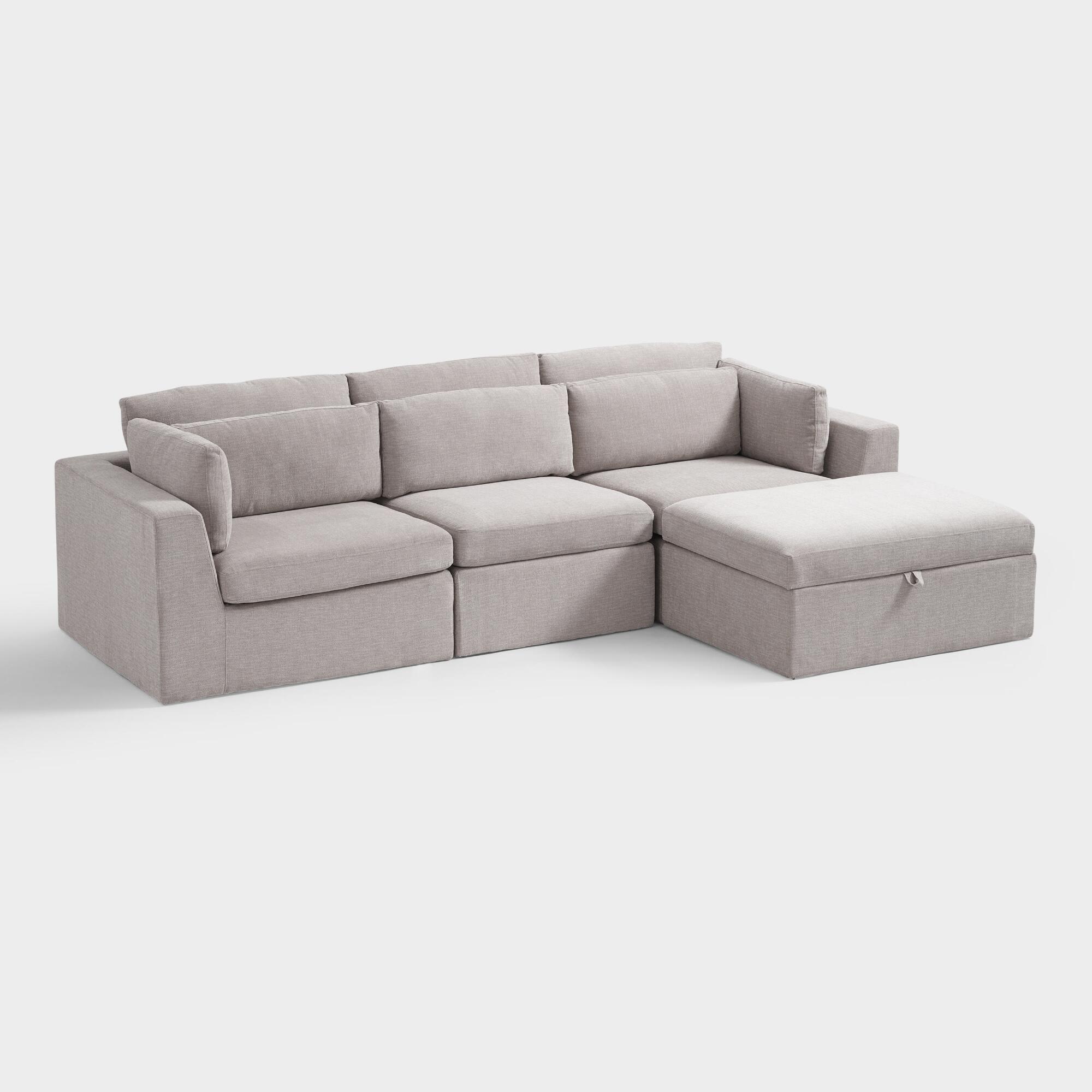 Emmett 4 Piece Modular Sectional Sofa by World Market ...
