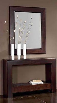 Modern Console Table Mirror Design Ideas 2019 Home Decor Home Decor Furniture Decor