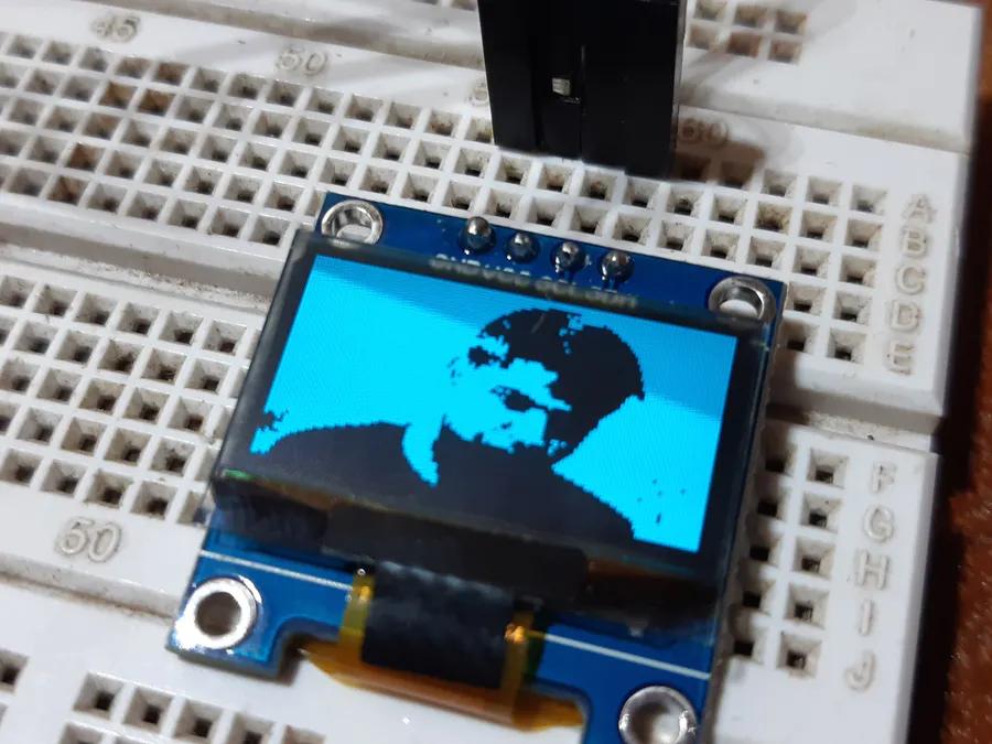 Displaying Images On Oled Hackster Io Splash Screen Arduino Display