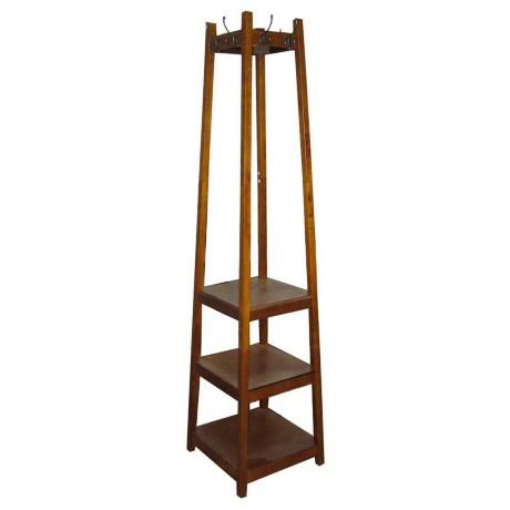 Westley 72 High Mission Style 3 Tier Shoe Tower Coat Rack 6j208 Lamps Plus Standing Coat Rack Home Decor Wood Shoe Rack