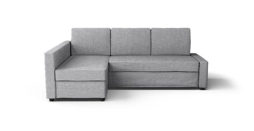 Friheten Corner Sofa Bed Cover Snug Fit Beautiful Custom Slipcovers Comfort