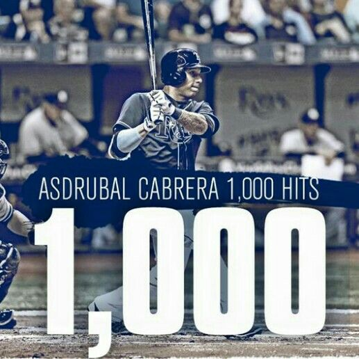Cabrera is the 11th active switch-hitter to reach 1,000 career hits. Congrats, Cabby!