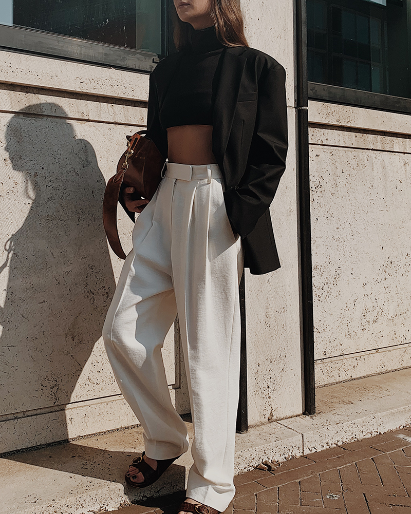 Oversized and Cropped — MODEDAMOUR