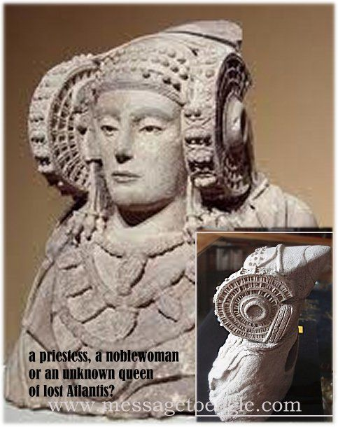 Lady Of Atlantis - Controversial Artifact Of Which True Origin Remains Obscure - MessageToEagle.com