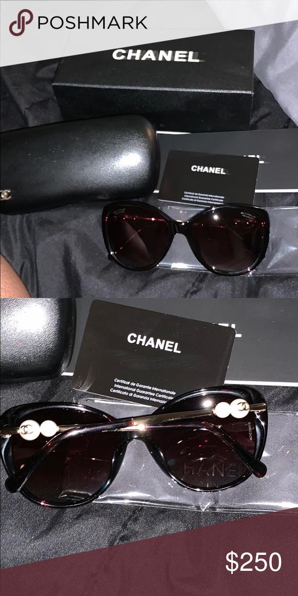 22238d676ff Chanel sun glasses. Comes with box