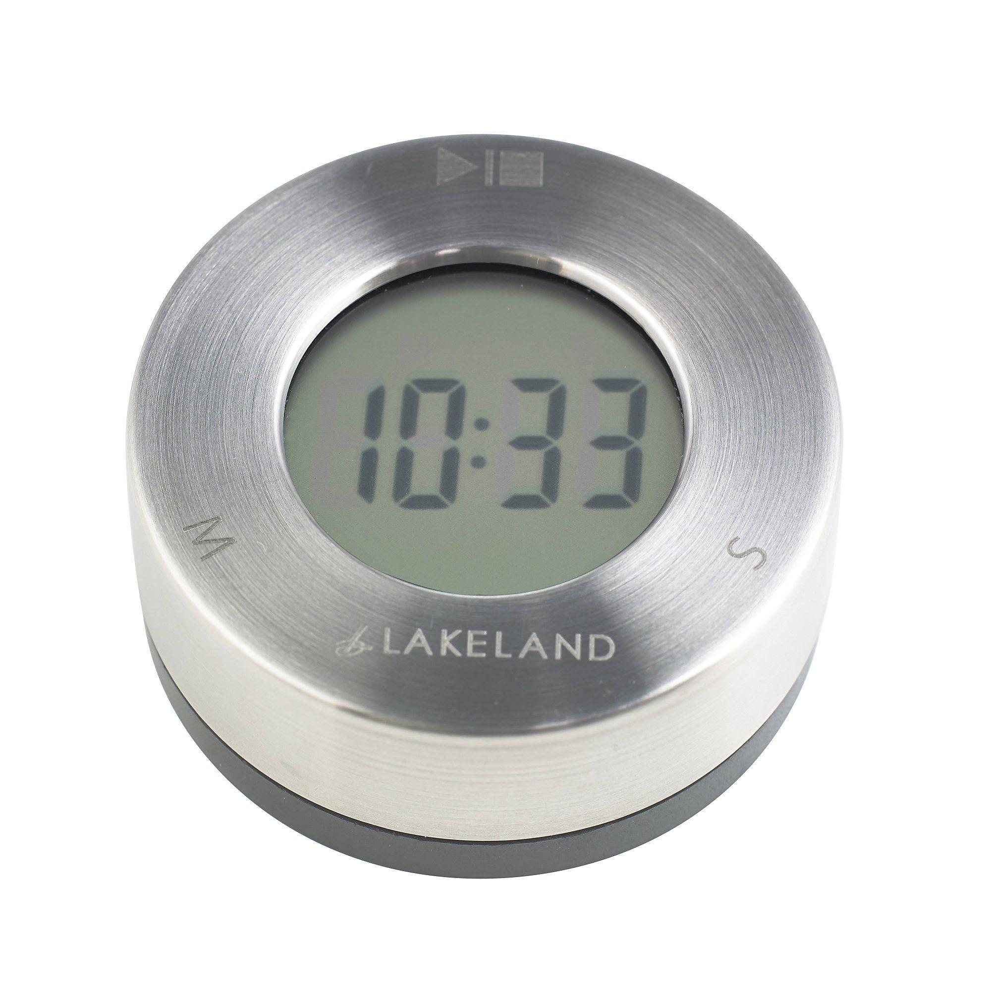 Lakeland Magnetic Digital Kitchen Timer & Clock