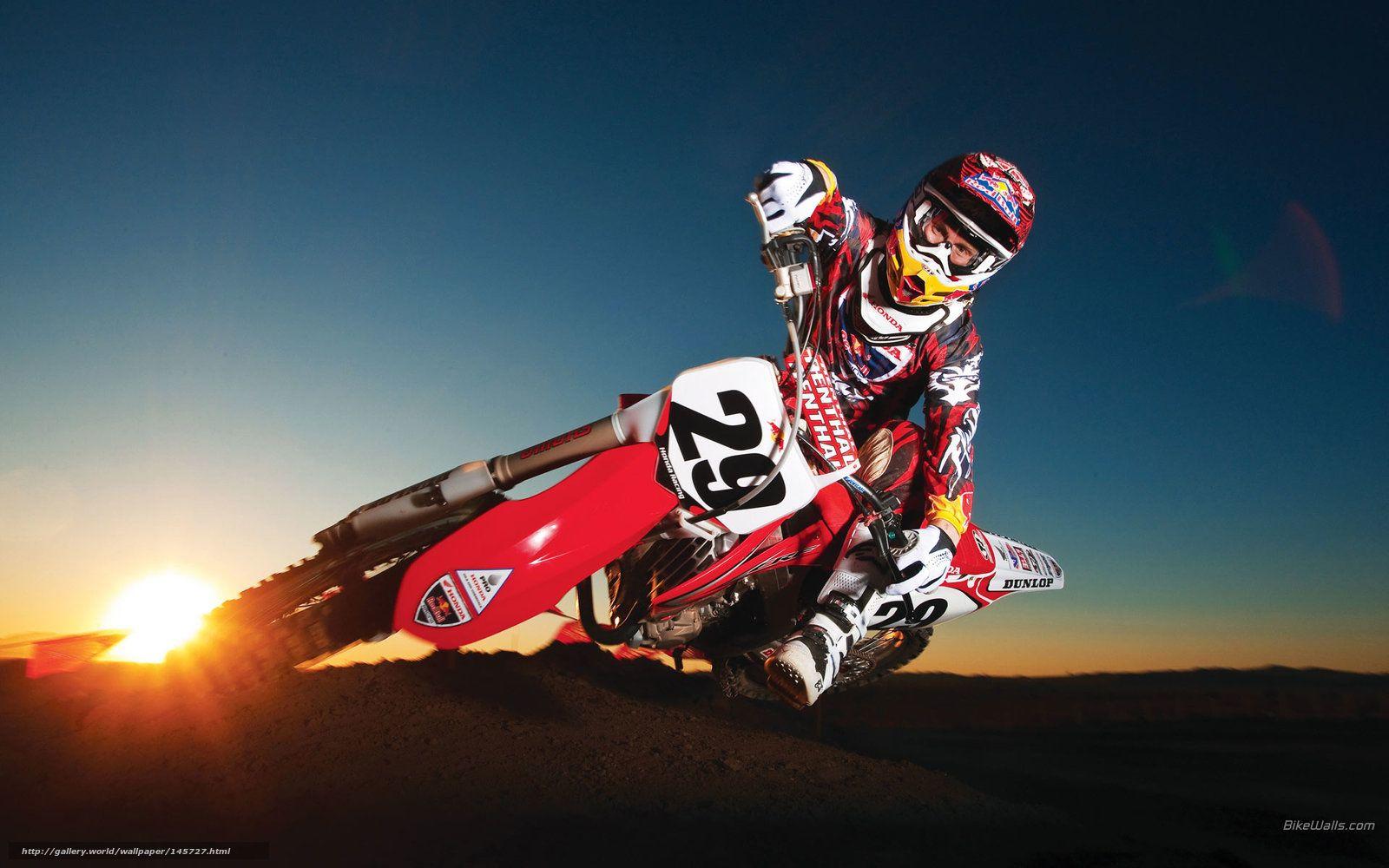 HONDA CRF R MOTOCROSS HD Wallpaper Free Download