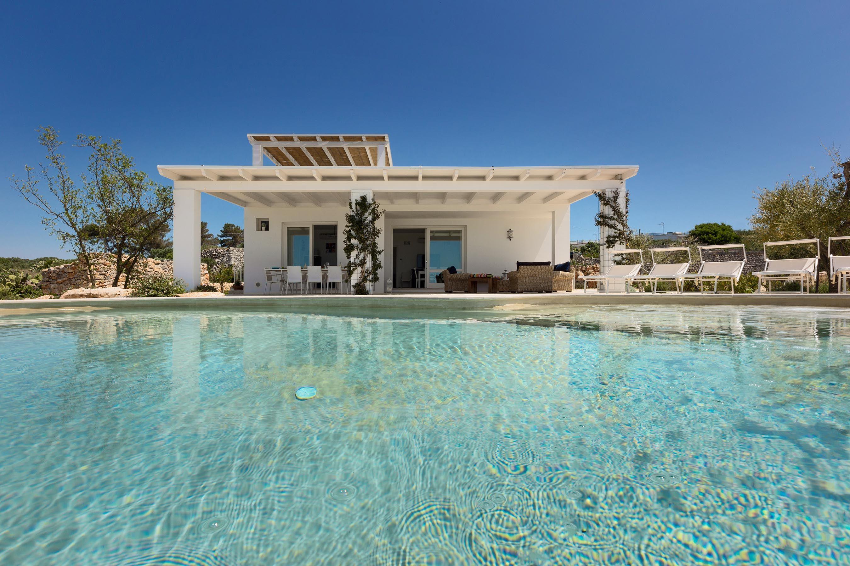 La Leucana è una splendida villa di charme con vista mare