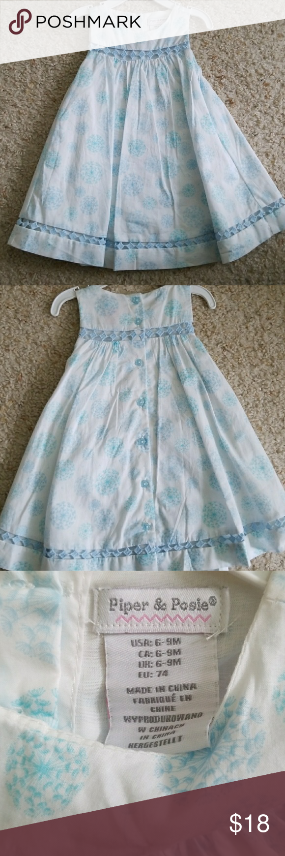 Piper Posie Baby Dress Customer Support And Delivery