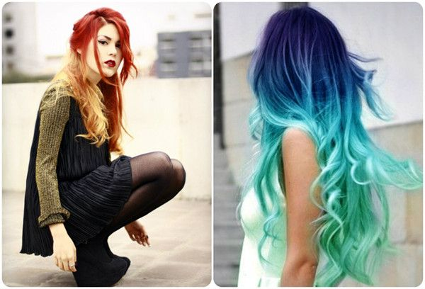 Ombre Bunt the one on the right hairstyles ombre hair