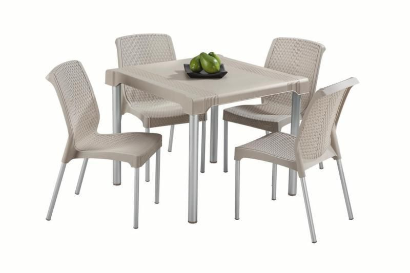Waterproof 5 Piece Patio Garden Dining Furniture Set Table Chairs Kit Clearance SALES EBay Amazon