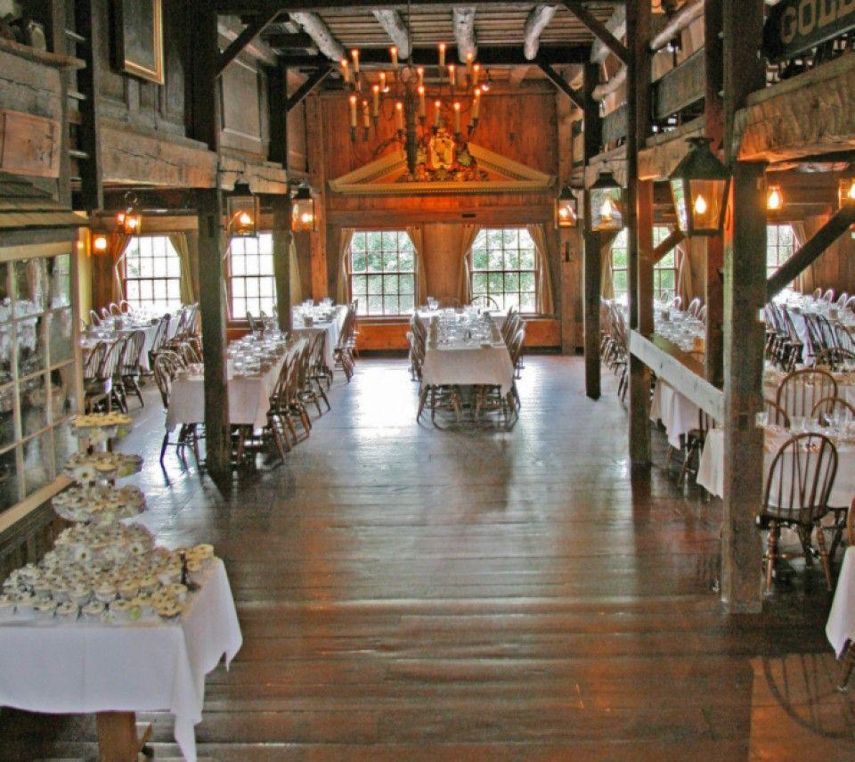 Wedding Reception Venues In Ma: Barn & Loft At The Salem Cross Inn, West Brookfield, MA