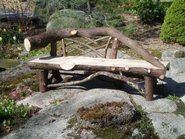 14 idées de designs originaux pour un banc de jardin en bois ...