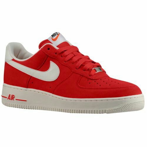 Nike shoe · Nike Air Force 1 - Low - Men's $89.99 Selected Style: University  Red/Sail