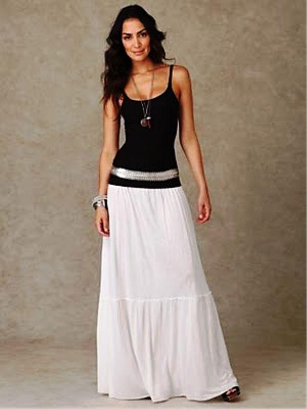 Long skirts design for favourite teen girls - 8 | Maxi Skirts ...