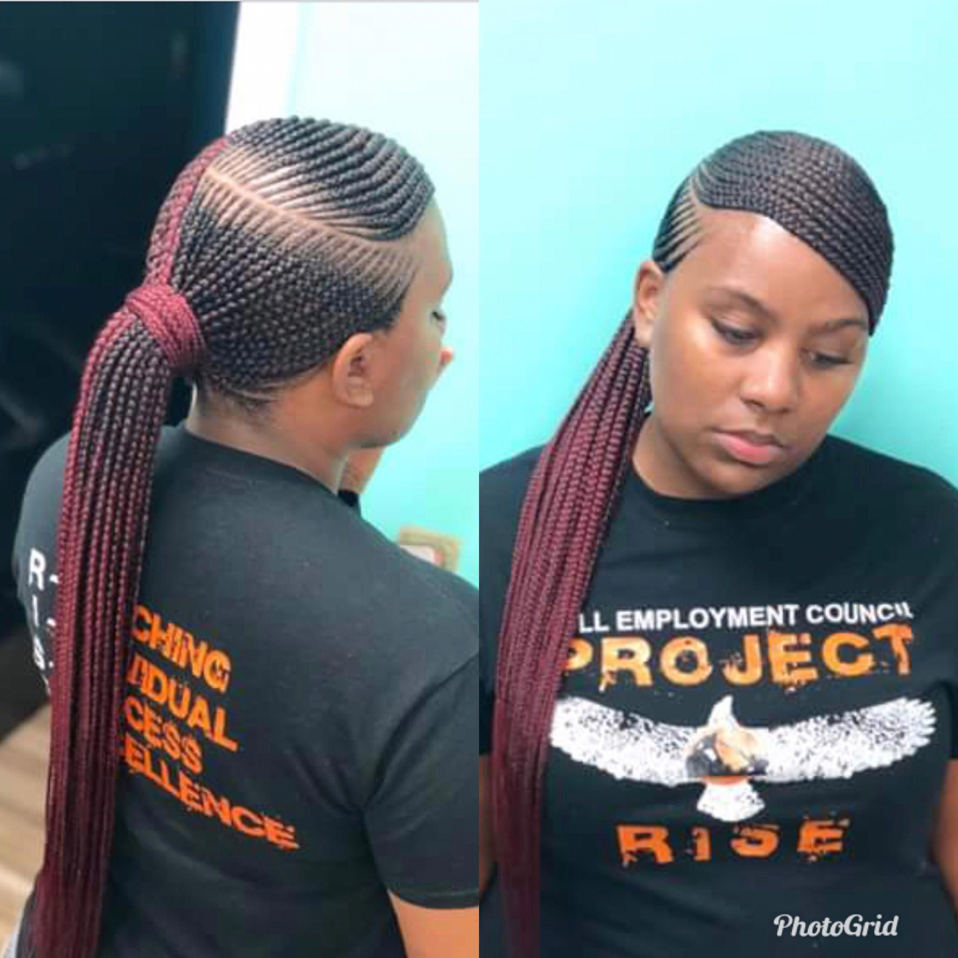 French Braid Hairstyles For Black Women Braidsforkids Cool Braid Hairstyles African Braids Hairstyles Box Braids Hairstyles