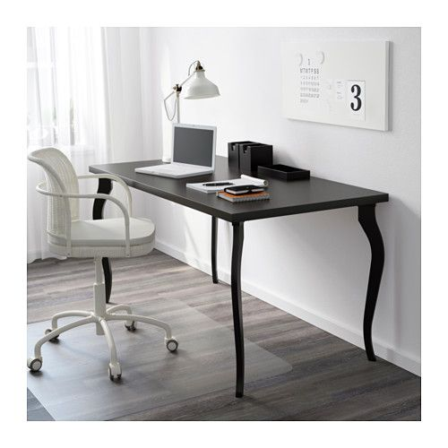 Linnmon Lalle Table Black Brown Black Ca Ikea Home Office Furniture Home Decor Office Interior Design