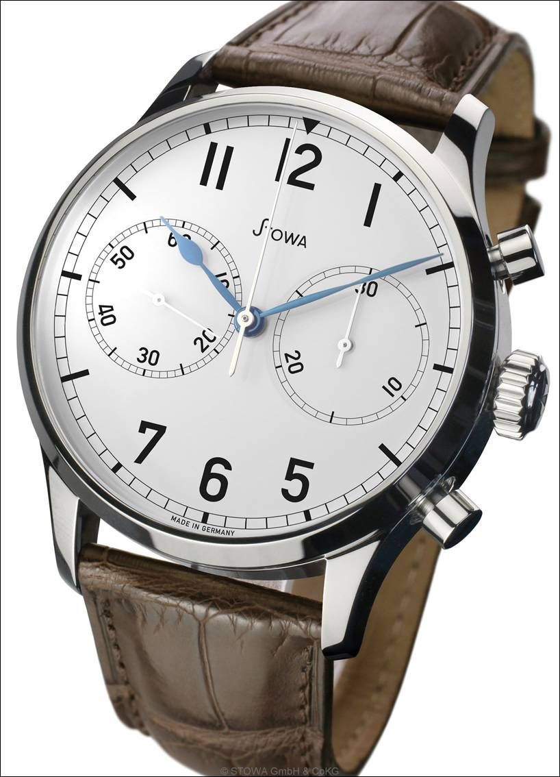 Stowa marine chrono valjoux 7753 watches pinterest stowa and marines for Marine watches