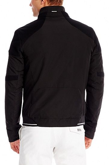 'Jorryn' | Water Repellent Jacket, Black