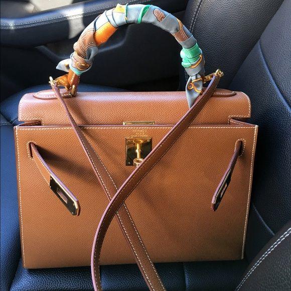 Hermes kelly 28 in Gold 95% new Hermes Bags  cb988cd84289f