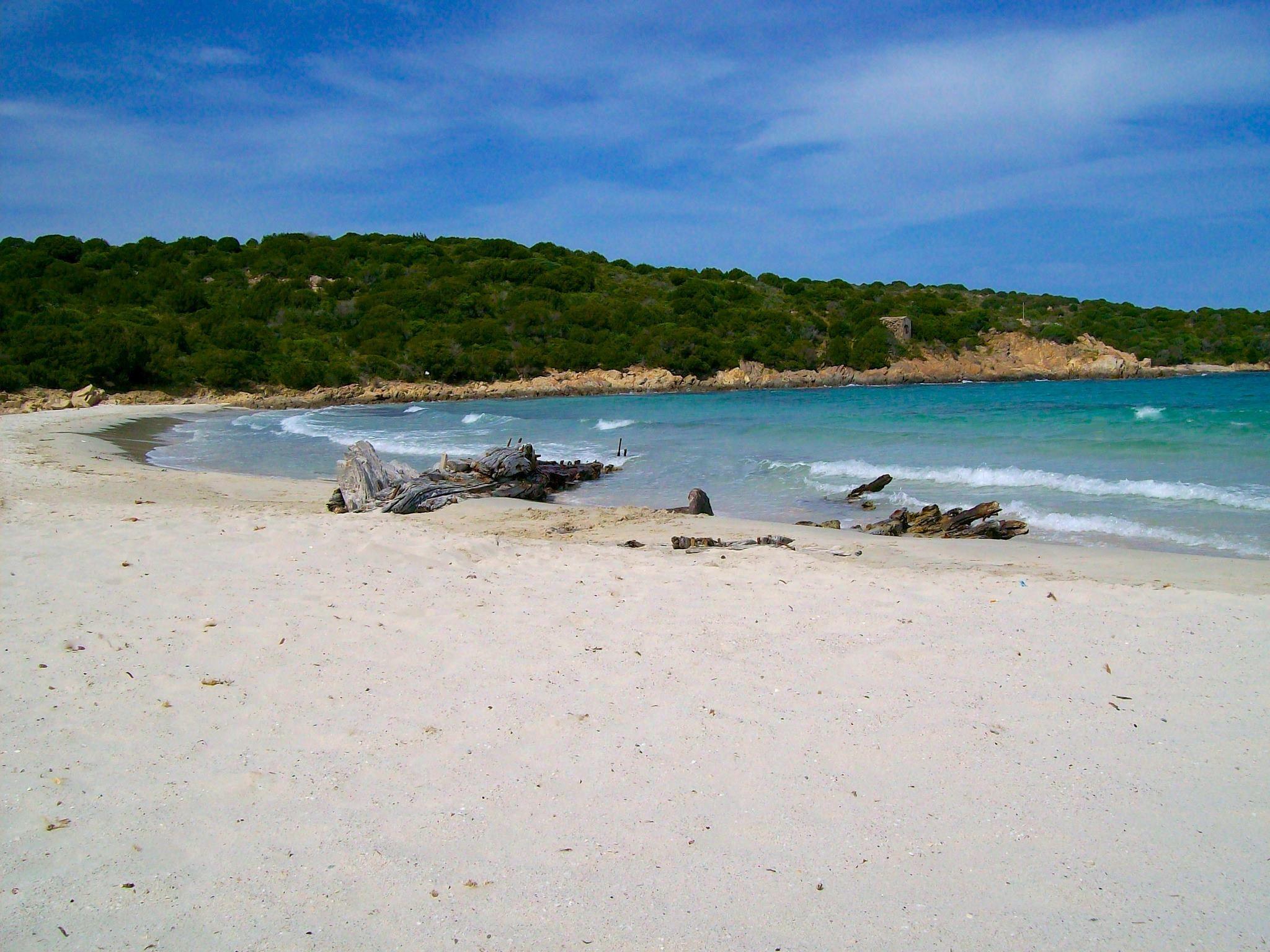 Spiaggia del Relitto, Isola di Caprera.