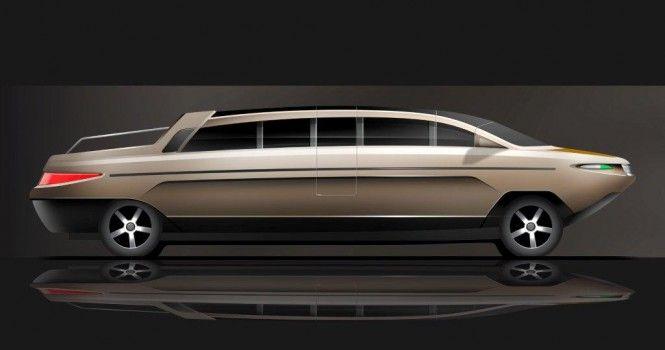 New Nouvoyage Limousine Tender 33' yacht tender - Profile