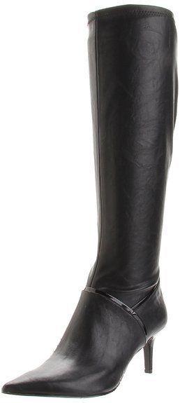 2c2b5f23399 Nine West Women s Shoes Alice Eve Black Fashion Knee High Boots Size ...