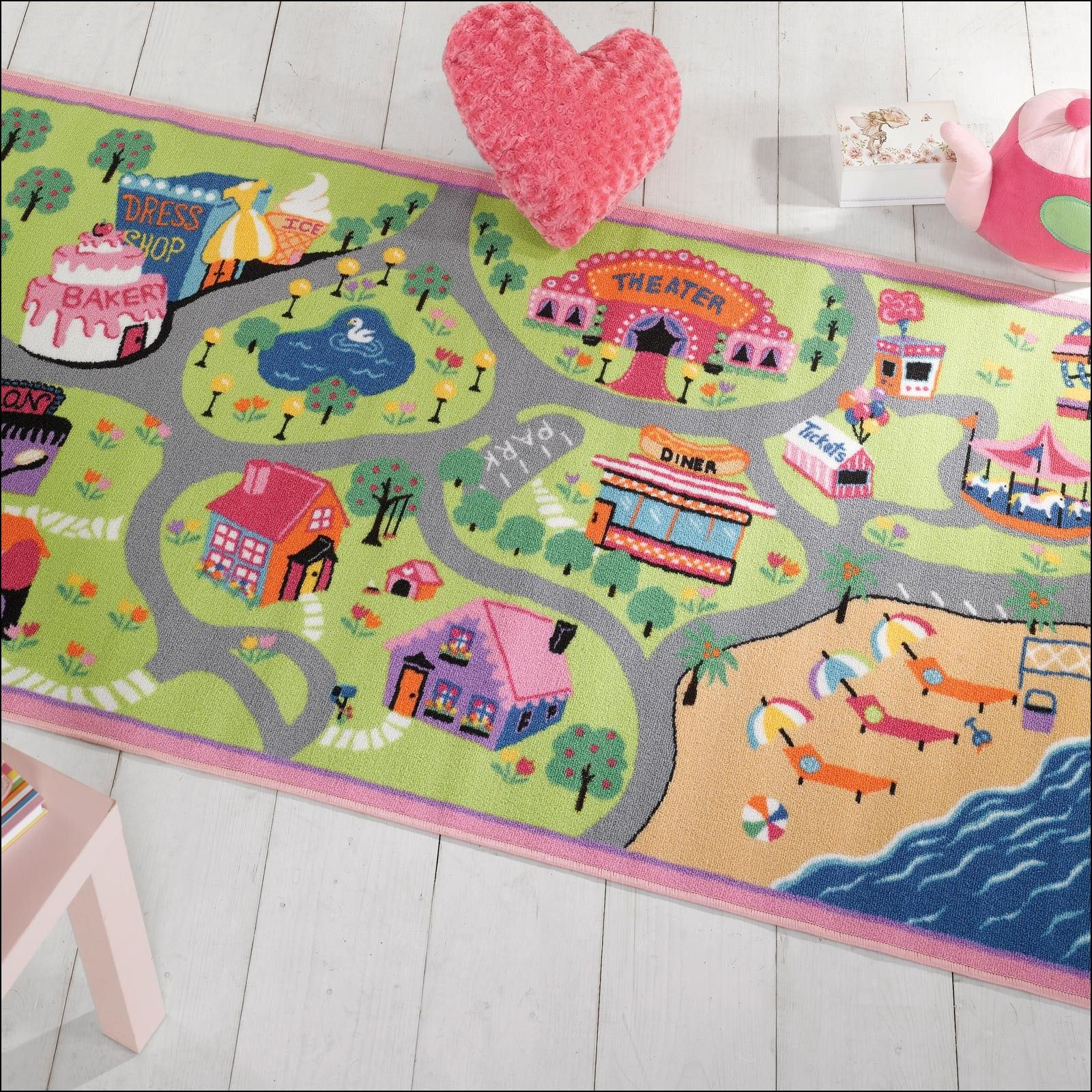 ideas bathtub owl accessories kids beach cartoon rug wall vanity girls bathroom design decor for color rugs