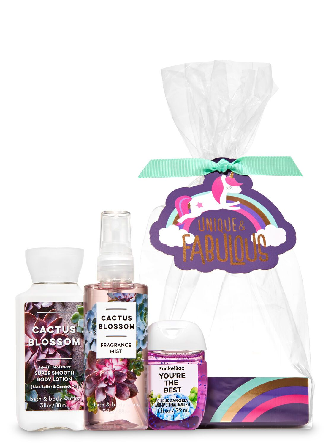 Bath Body Works Cactus Blossom Unique Fabulous Mini Gift Set
