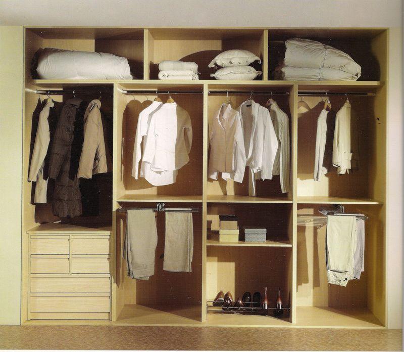 Interior de armario 4 modulos 3 maleteros vestidores - Modulos interior armario ...