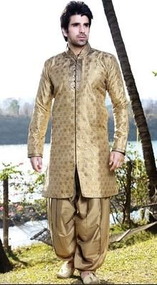 Image result for silver gold brocade sherwani