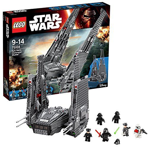 lego star wars 75104 jeu de construction kylo ren 39 s command shuttle lego. Black Bedroom Furniture Sets. Home Design Ideas