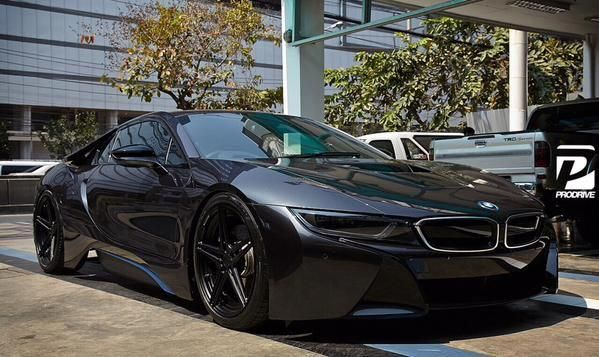 All Black Bmw I8 Technews24h Com Bmwclassiccars Bmw Classic