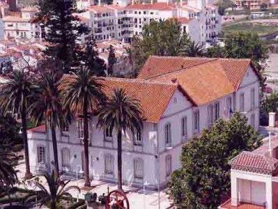 Casa Larios, Torre del Mar, hoy en día la Tenencia de Alcaldía y  Conservatorio  Elemental de Música