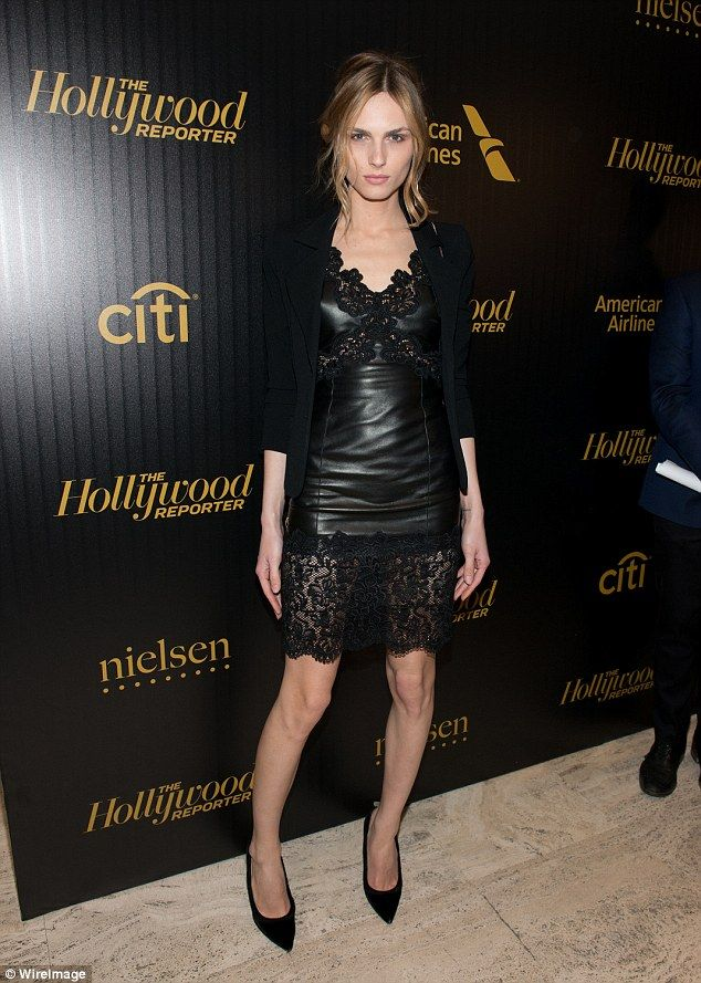 Transgender model andreja pejic stands out in chic dress at nyc model star in 2014 andreja made the transition to female and has since become ccuart Gallery