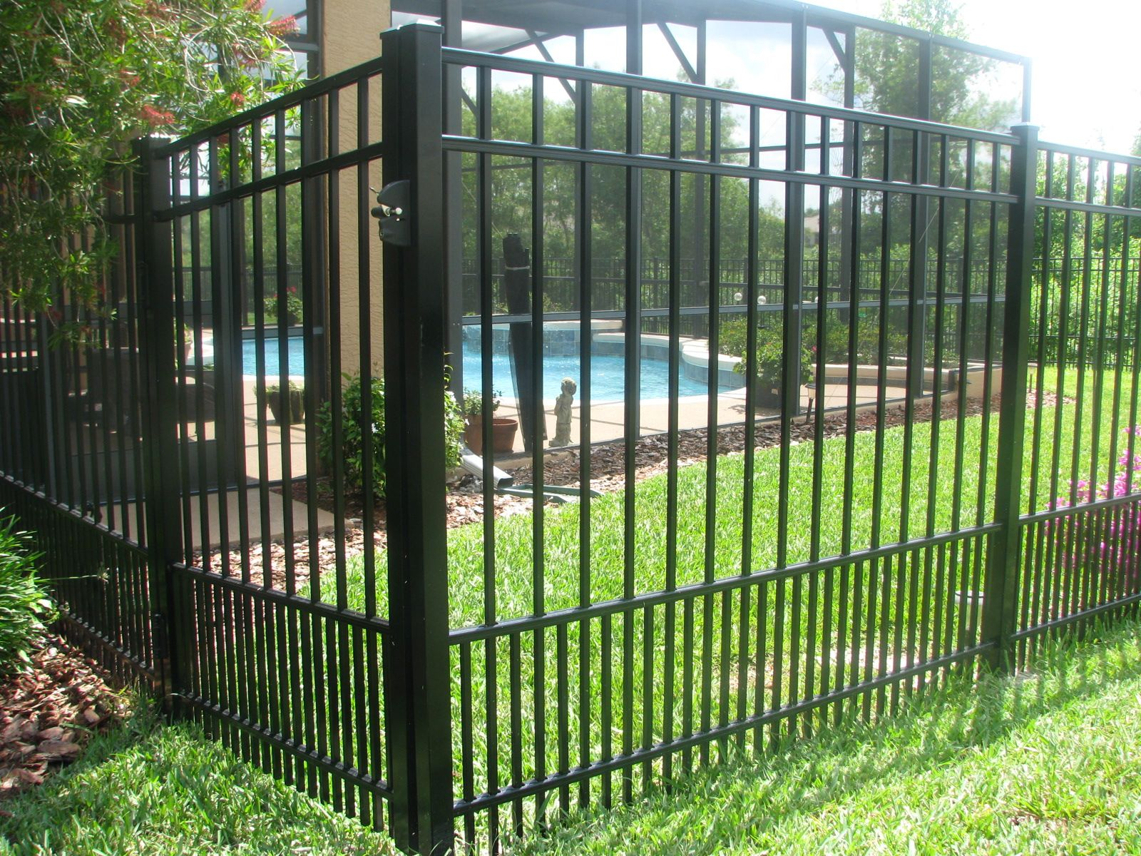 Mossy Oak Fence | Dream Home in 2019 | Aluminum fence, Fence