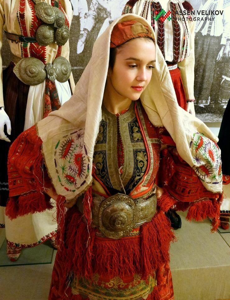 Miyak costume, Macedonia
