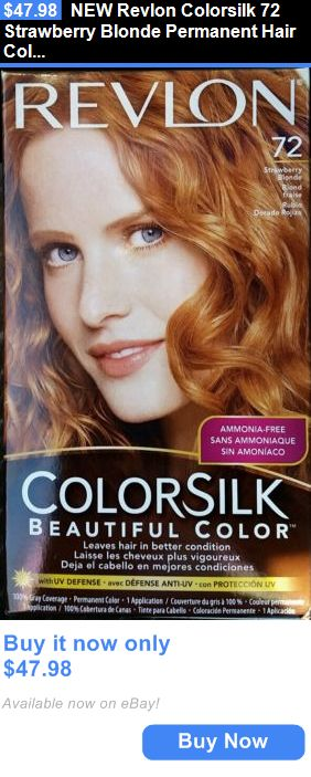 Hair Color New Revlon Colorsilk 72 Strawberry Blonde Permanent