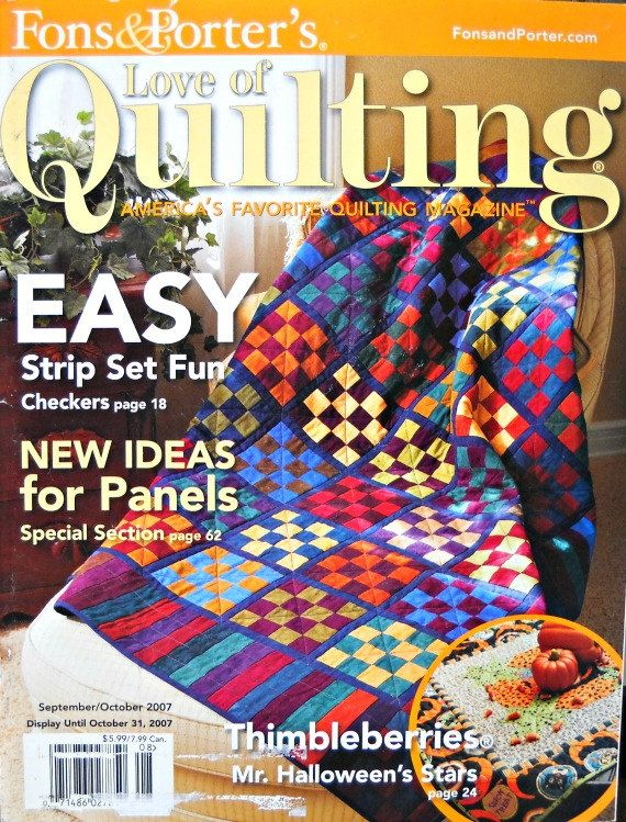 Fons And Porters Love Of Quilting Magazine By Curlicuecreations