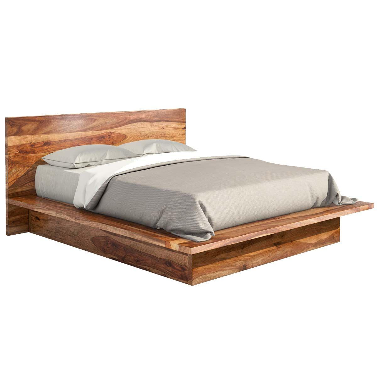 Delaware Solid Wood Platform Bed Frame Wood Platform Bed Wood Platform Bed Frame Solid Wood Bed