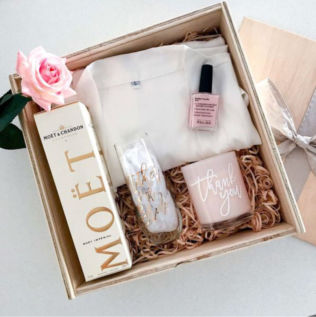 Mother Of The Bride Hamper Bride Gifts Creative Bridal Shower Gifts Bridesmaid Gift Boxes