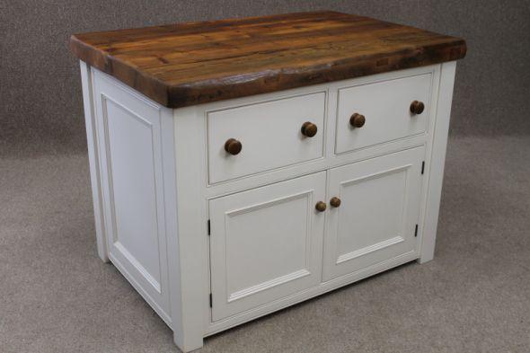 Kitchen Island Unit Handmade In Reclaimed Pine Beautiful Practical Bespoke