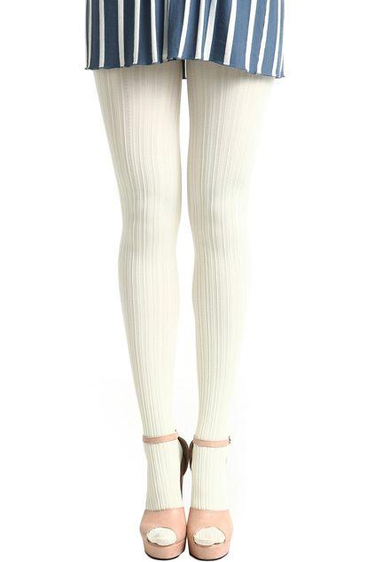 Vertical Serratula Stripe White Tights - Shop these tights at @fashion_tights_styles www.fashion-tights.net #tights #pantyhose #hosiery #nylons #tightslegs #tightsfeet #tightslover #tightsblogger #tightsfashion #pantyhoselegs #pantyhosefeet #pantyhoselover #pantyhoseblogger #pantyhosefashion #nylonlegs #nylonfeet #nylonlover #nylonblogger #nylonfashion #hosierylover #hosierylegs #hosieryfeet #hosieryblogger #hosieryfashion #legs