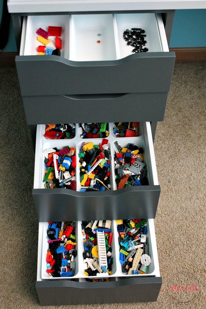 Easy DIY Lego Tables Ikea Hack! Lego Desk Tutorial