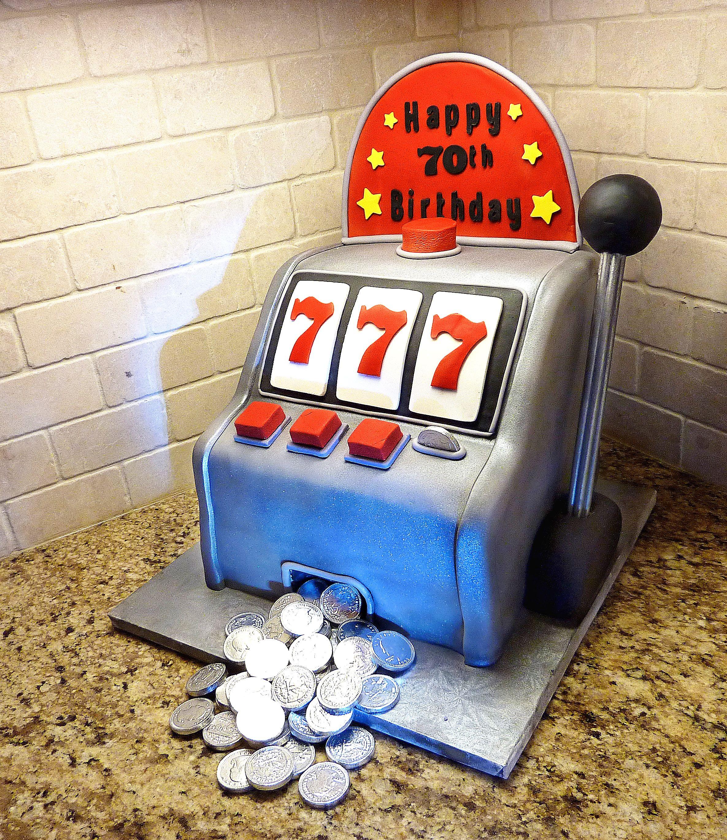 Happy Birthday Slot Machine Cake Party Cakes In 2019