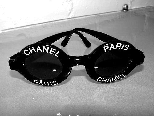 gafas  chanel  paris  negro  anteojos  5c507c16c1e3